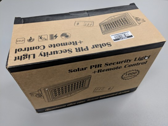 Solar Pir Security Light Product Review