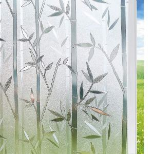 Solardiamond 3D Static Decorative Windows Films - Bamboo
