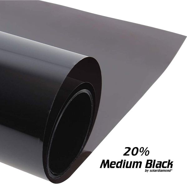 Solardiamond Windows Films - Medium Black
