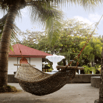 Hammock by the pool at Solarena Resort