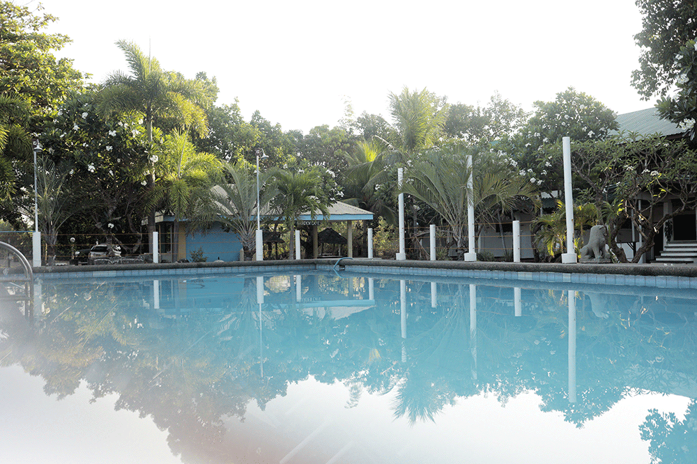 Pool with Garden view at Solarena Seaside Resort, Caba, La Union