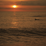 Surfing Sunset - Solarena Resort, Caba, La Union