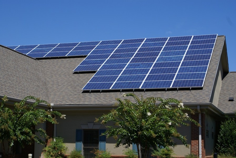 Photovoltaic  PV  Solar Panels   Solar Energy USA solar energy usa pv panels residential 2       solar energy usa pv panels residential 3       solar energy usa pv panels residential 4      Solar Panels on a house