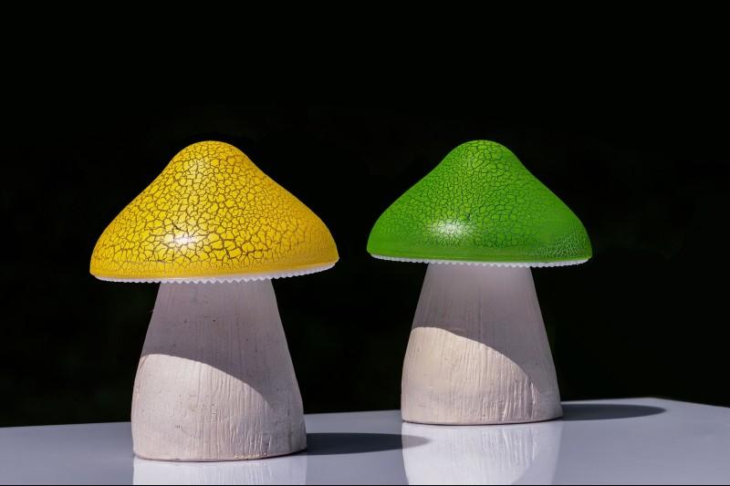 best solar mushroom lights