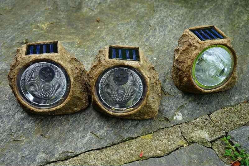 best solar rock lights