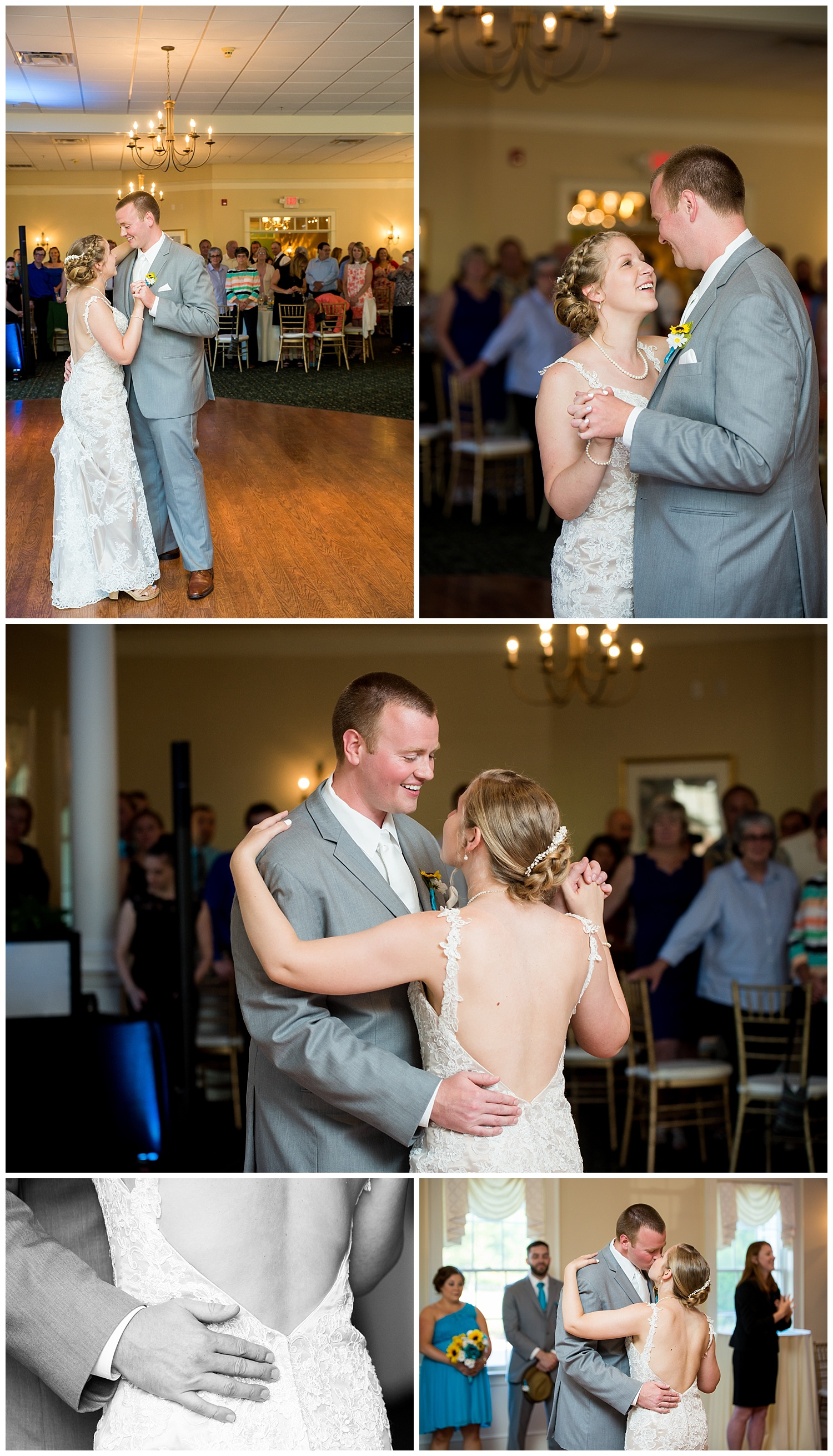 Introductions and first dance,Jolene & Josh Blog,