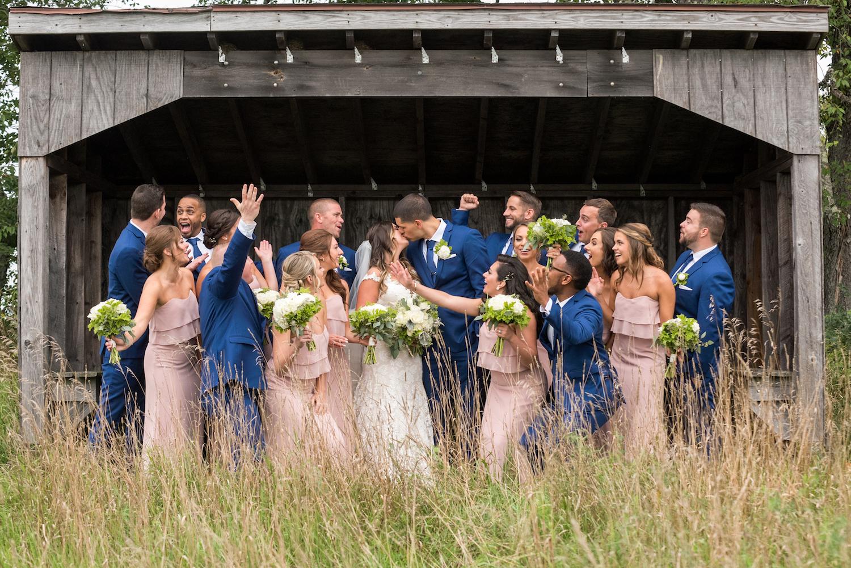 Danielle & David - Labelle Winery Wedding