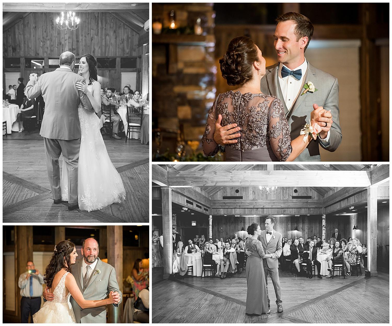 Birch Wood Vineyards Wedding Reception Parents Dance