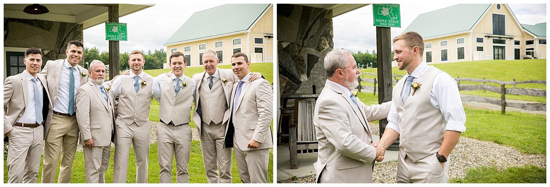 Valley View Farm Wedding - Getting Ready Photos
