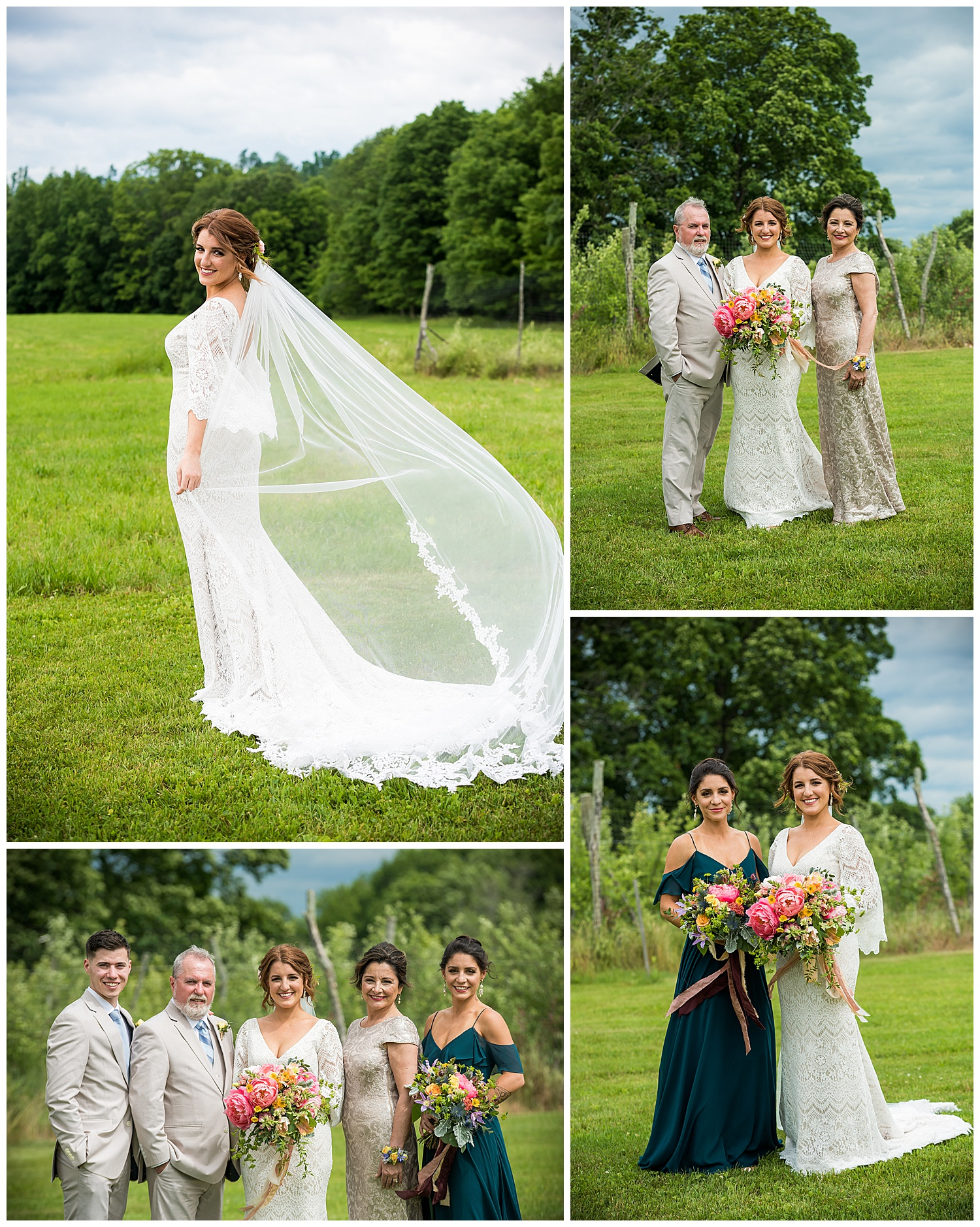 Valley View Farm Wedding - Family Photos