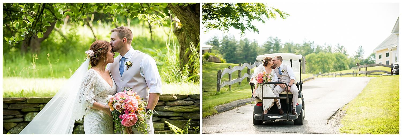 Valley View Farm Wedding - Bride & Groom Portraits