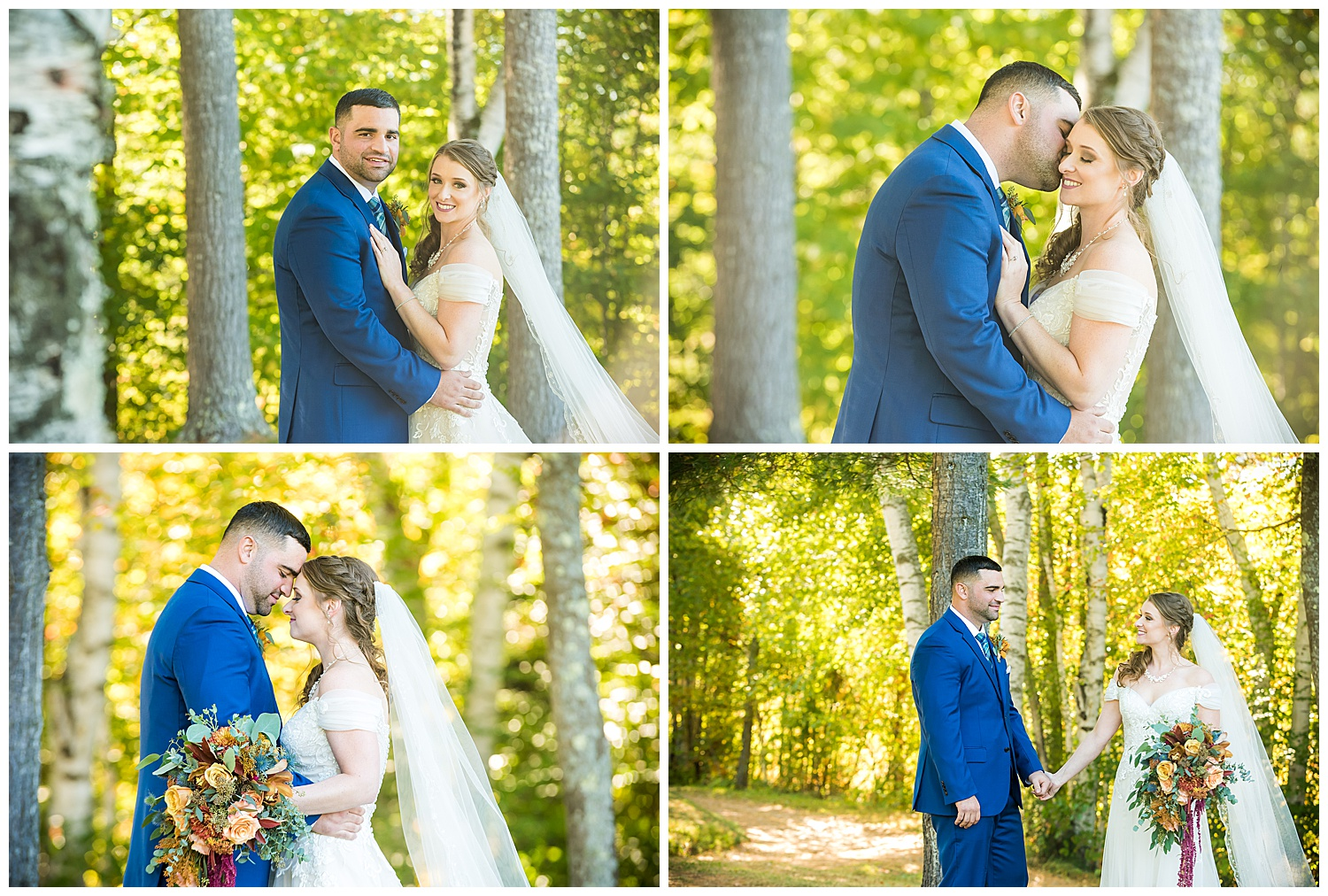 Owl's Nest White Mountain Wedding - Bride & Groom Portraits