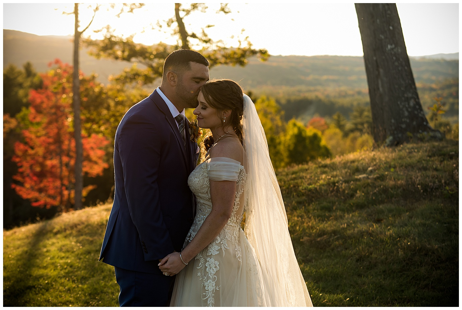 Owl's Nest White Mountain Wedding - Golden Hour Photos
