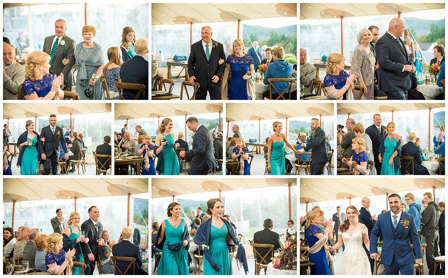 Owl's Nest White Mountain Wedding - Reception Photos