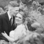 Smith Barn Peabody Wedding Bride and Groom Couple Portrait