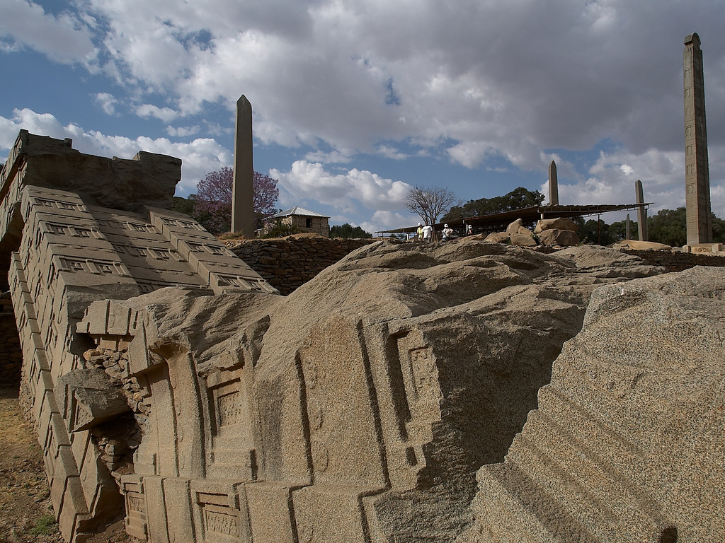 Aksum The Ancient City With Tombs Amp The Largest Megalithic