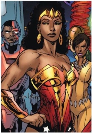 Image result for nubia wonder woman