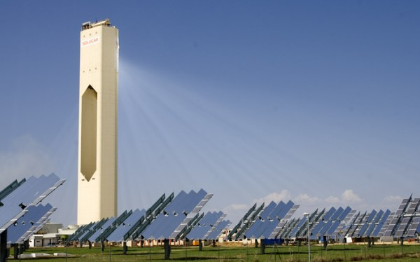concentrated solar power tower