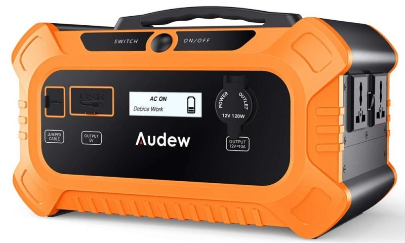 Audew 500Wh Portable Solar Generator Review