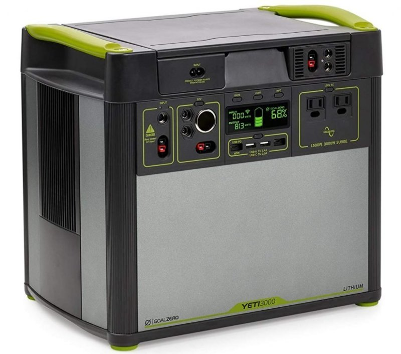 Goal Zero Yeti 3000 Lithium Portable Power Station (WiFi) Review
