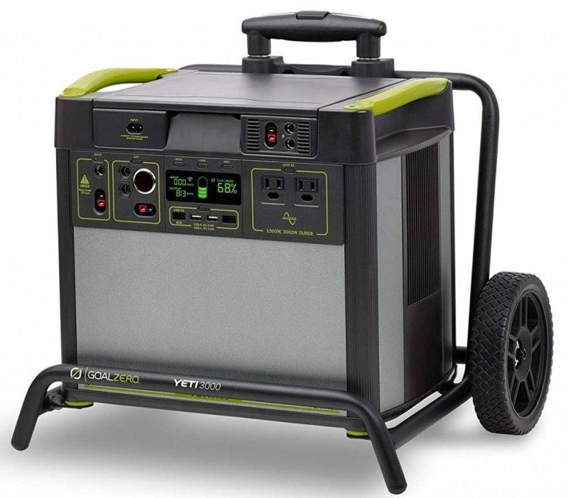 Yeti 3000 (WiFi) Lithium Portable Solar Generator Review