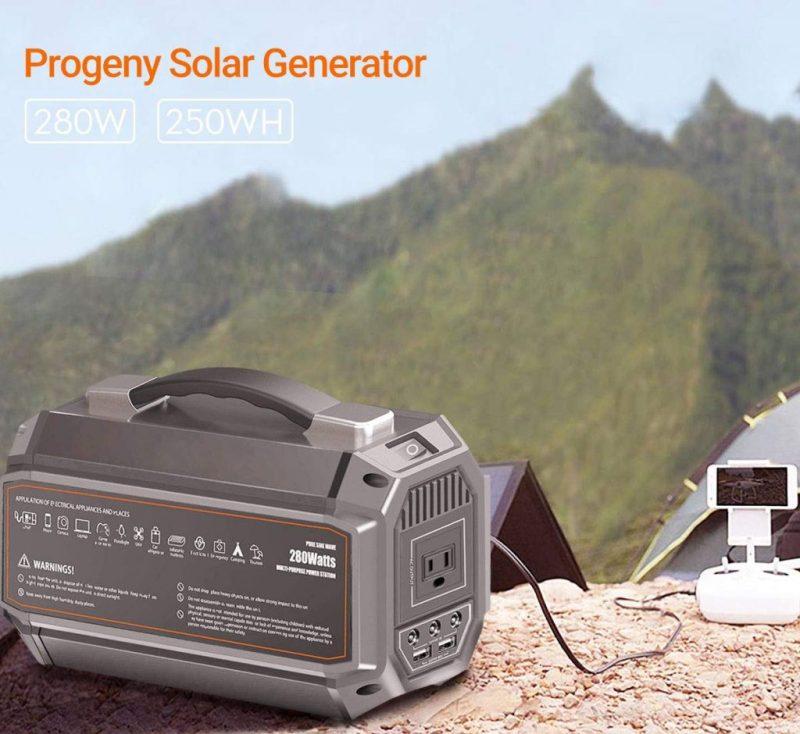 The Cheapest Portable Solar Generator