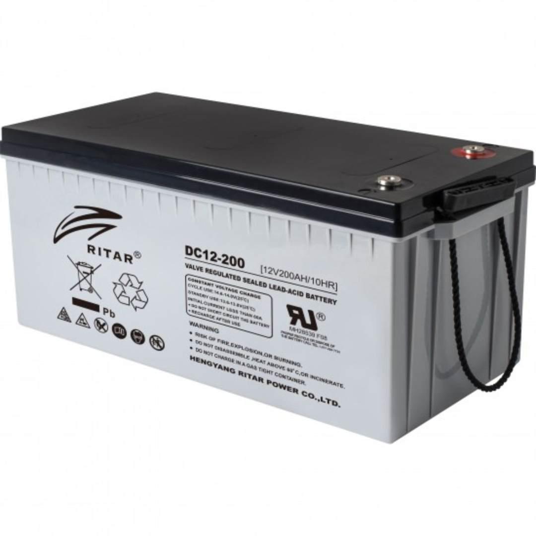ritar AGM DC12-200 Battery