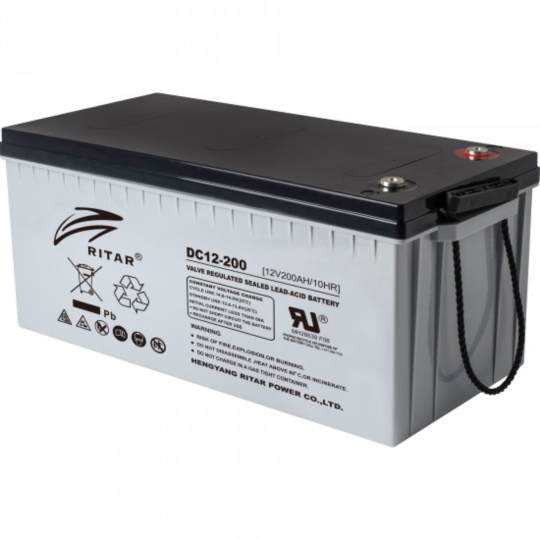 ritar AGM DC12-200 Battery