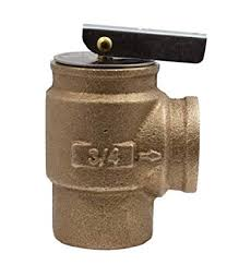 Fixed Hot Water Pressure Relief Valve