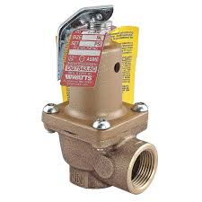 "Fixed Hot Water Pressure Relief Valve with 3/4"" Outlet"