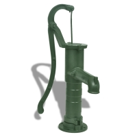 Hand pumps are great for shallow wells in an off the grid situation.