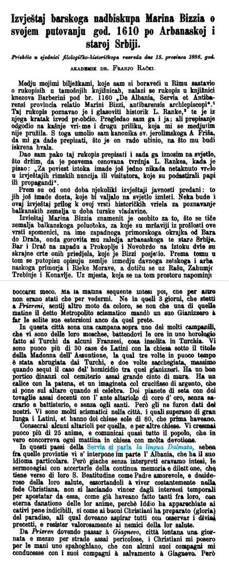 lingua Dalmata