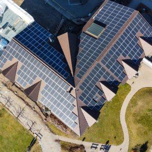 Solaranlage von Solarify auf Dach von Altersheim Seegarten