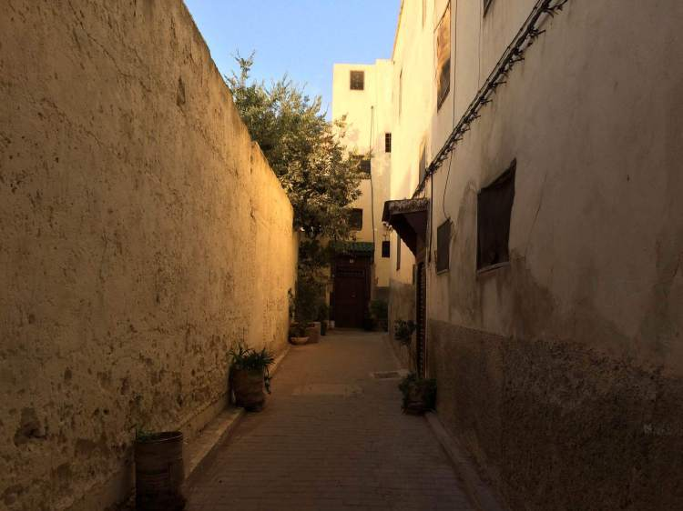 A dead-end in Fez, Morocco