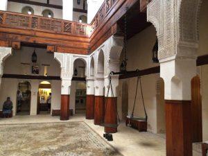 Inside a restored villa