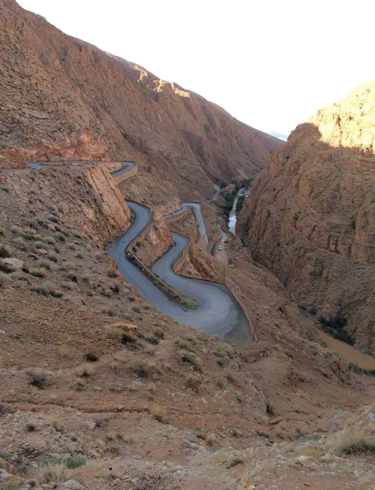 The Dades Gorge