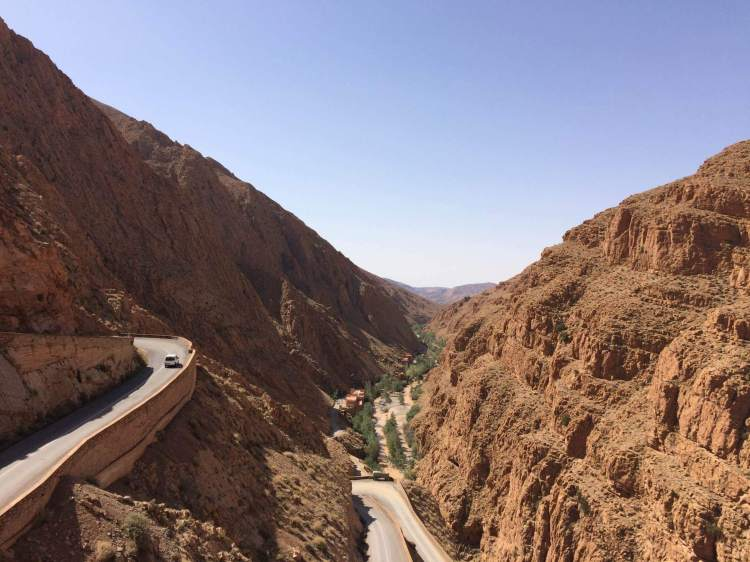 The Dades Valley in Morocco