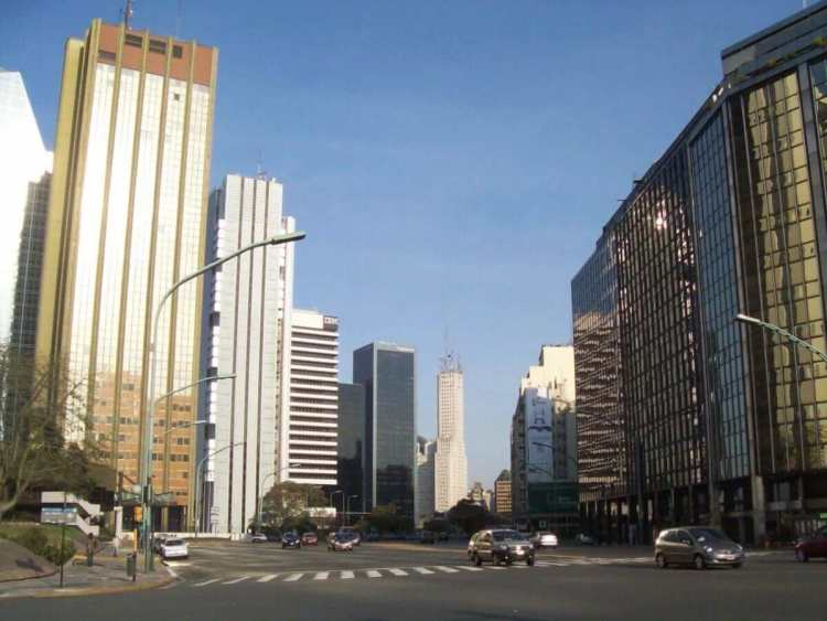 Business District in Buenos Aires
