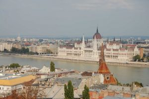 View From Budapest Castle