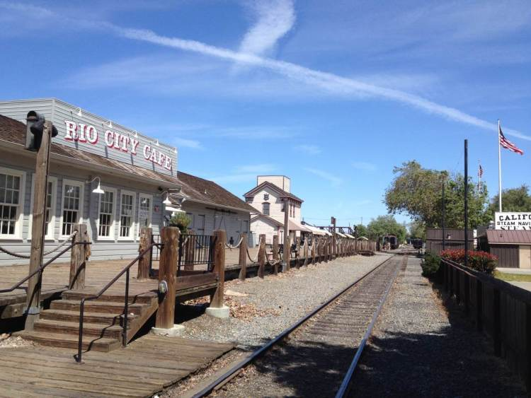 The Old Sacramento Railway Station