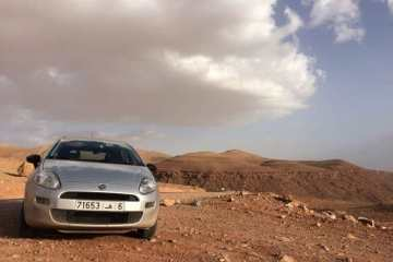 On top of the Atlas Mountains
