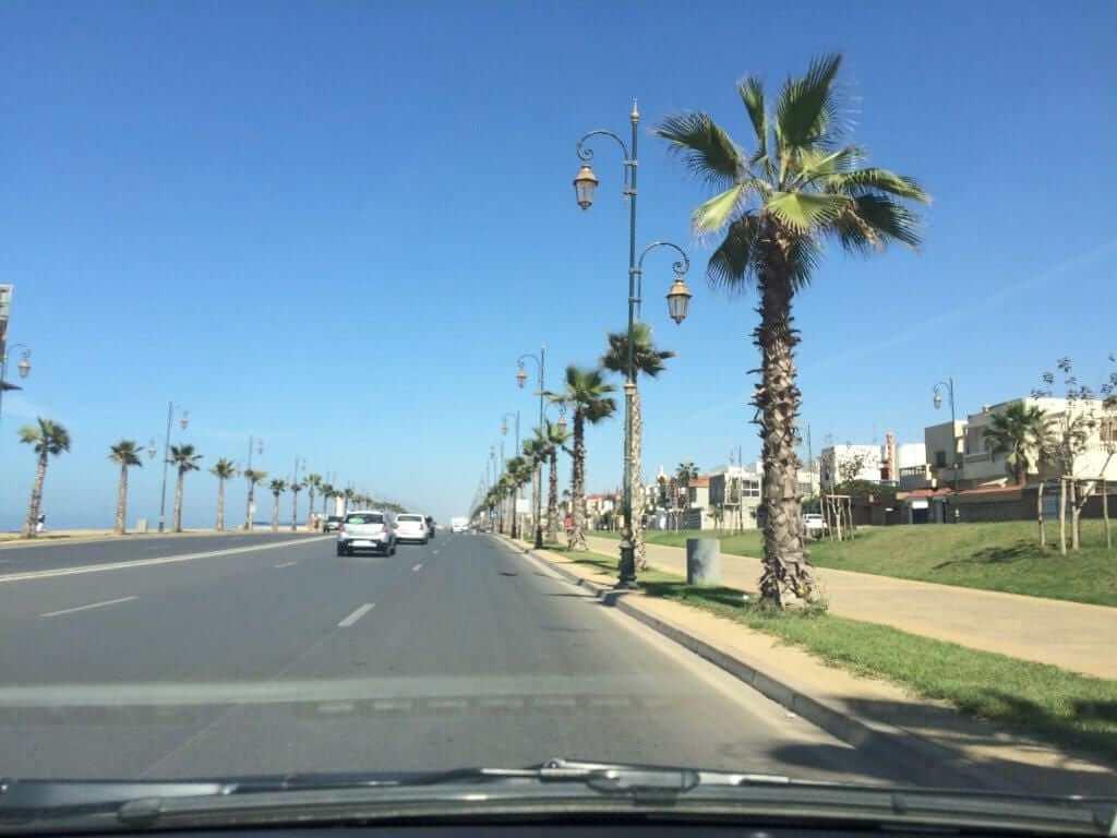 Rabat Beach Promenade