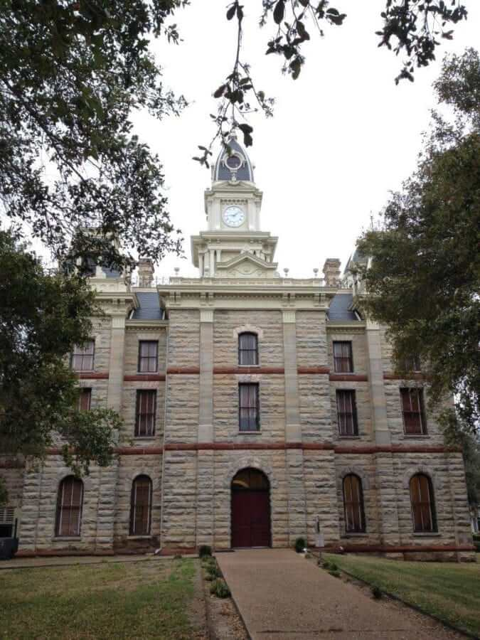 The Courthouse in Goliad, TX