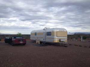 My RV from outside