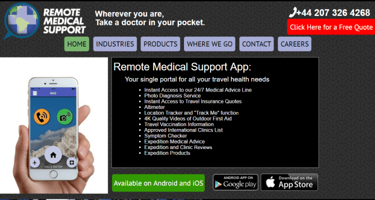 Remote Medical Support