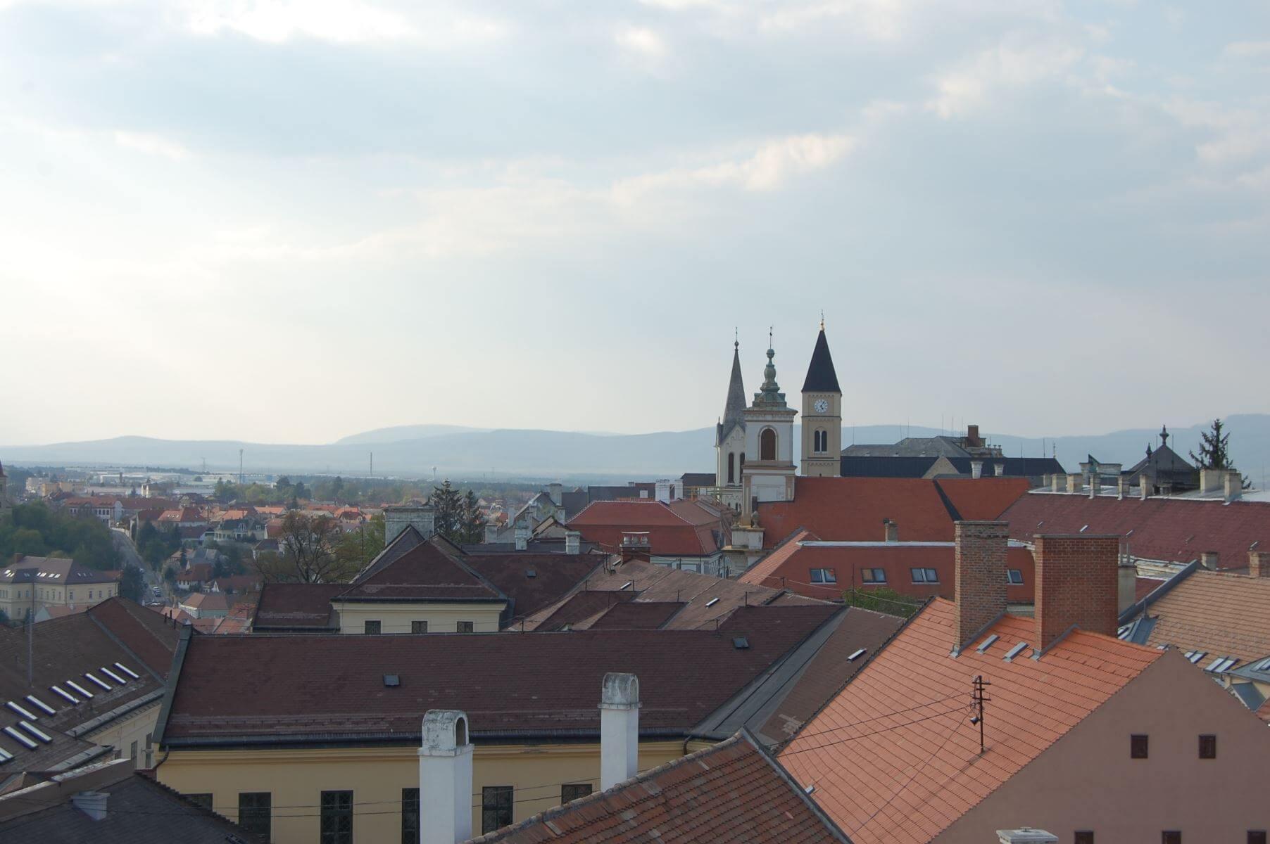 Veszprém City Skyline