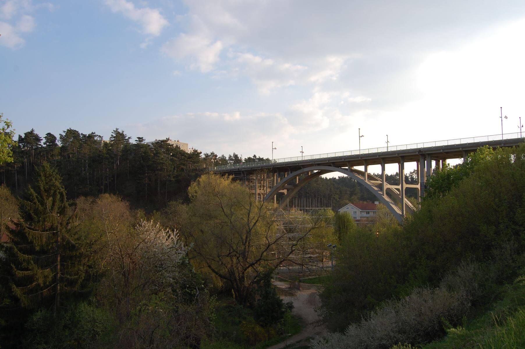 The New Brdige in Veszprém, Hungary