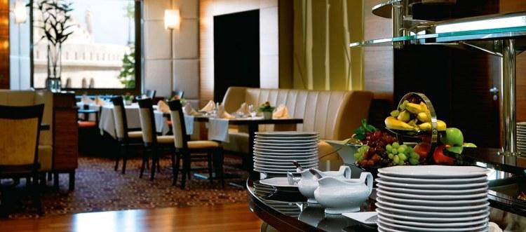 Hilton Budapest Breakfast Room