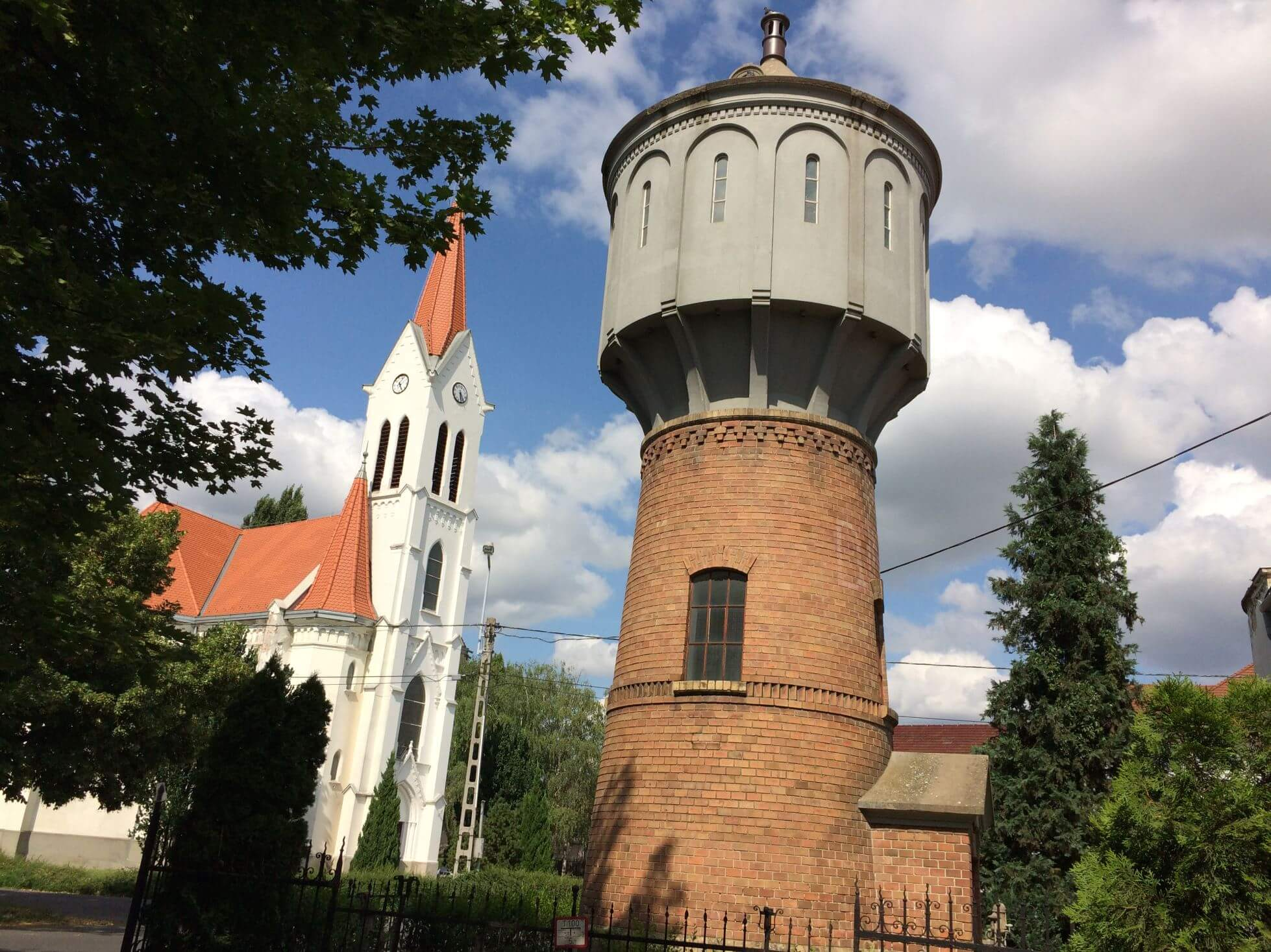 Gyula Water Tower, Hungary