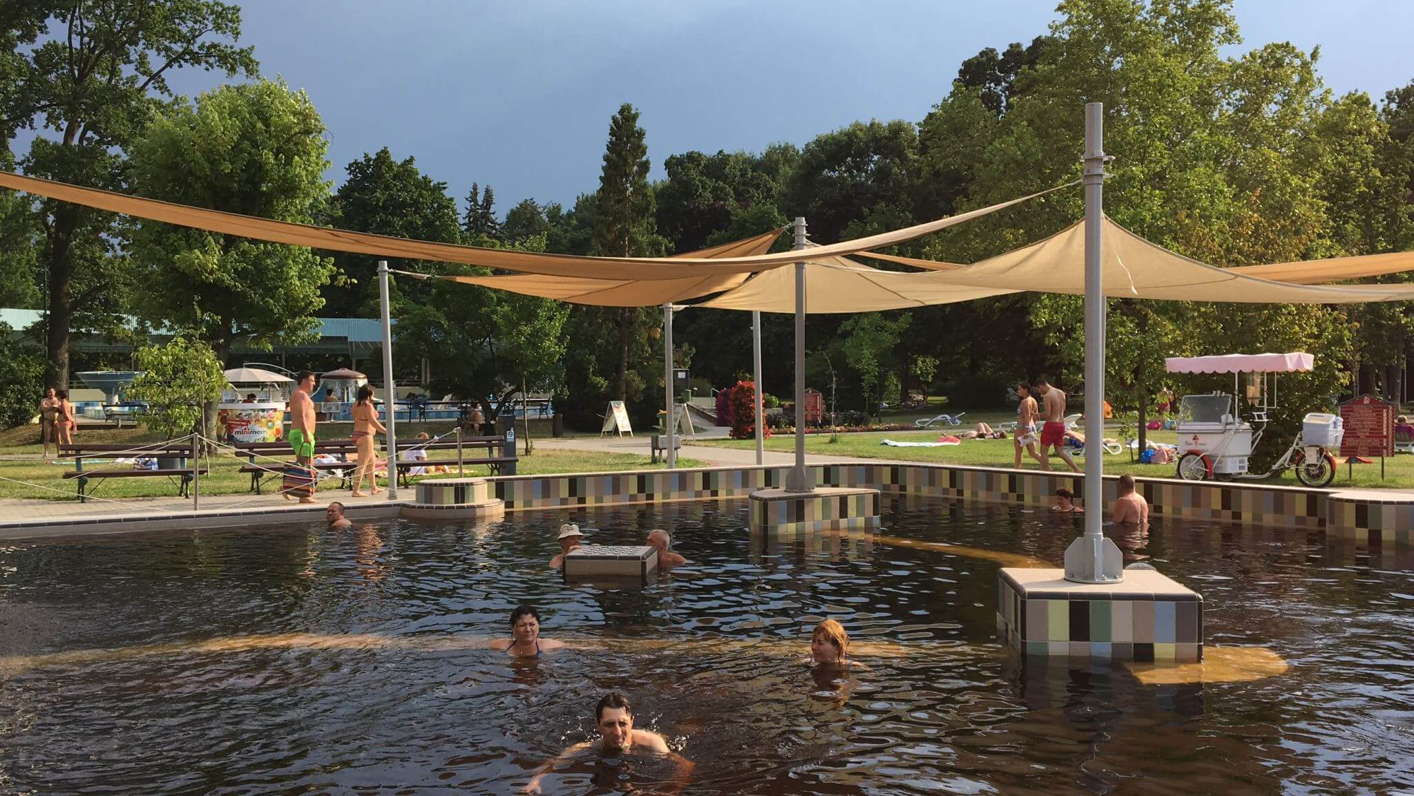 Thermal Spa in Gyula, Hungary